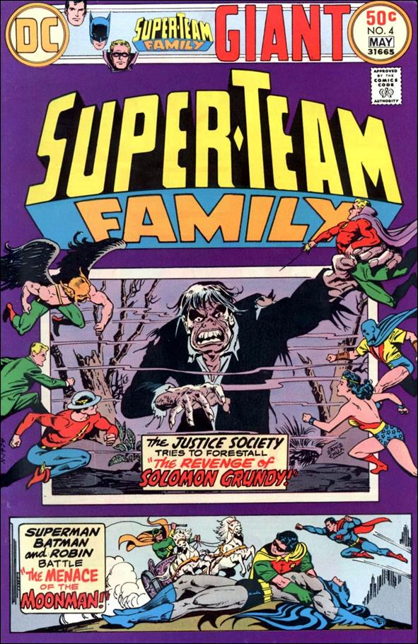 Super-Team Family 4-A by DC