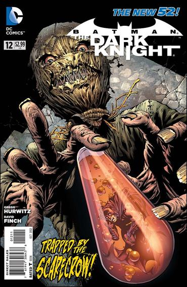 Batman: The Dark Knight (2011/11) 12-A by DC