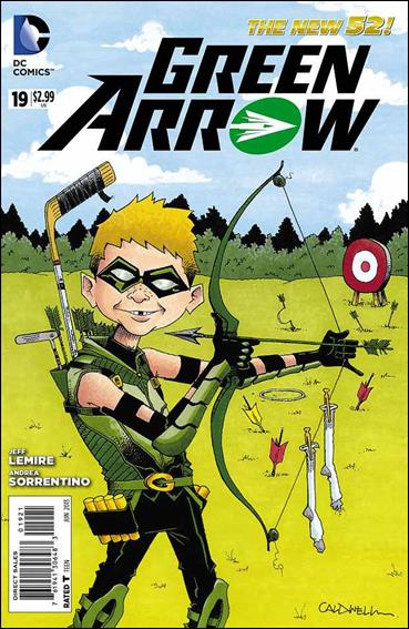 Green Arrow (2011) 19-B by DC