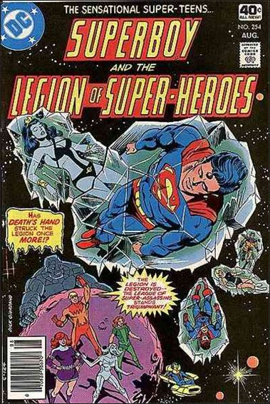 Superboy and the Legion of Super-Heroes 254-A by DC