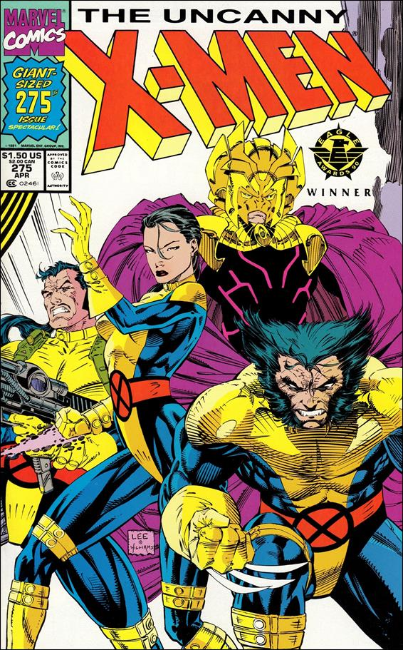Uncanny X-Men (1981) 275-A by Marvel