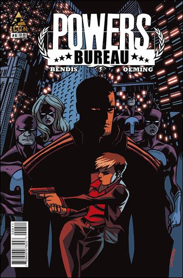 Powers: The Bureau 6-A by Icon