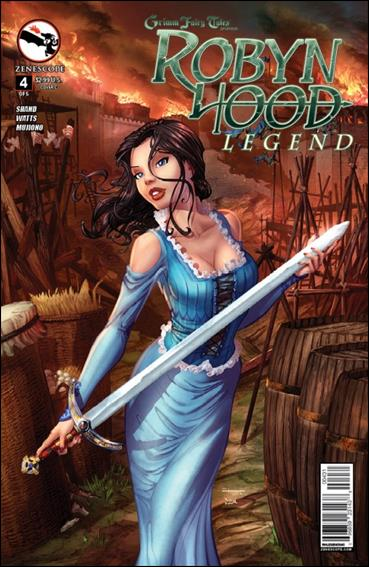 Grimm Fairy Tales Presents Robyn Hood: Legend 4-C by Zenescope Entertainment