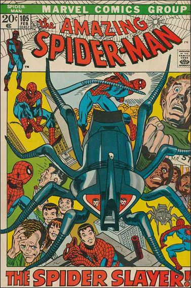 Amazing Spider-Man (1963) 105-A by Marvel