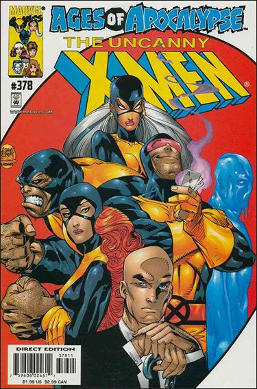 Uncanny X-Men (1981) 378-A by Marvel