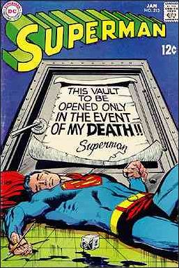 Superman (1939) 213-A by DC
