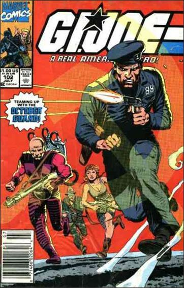 G.I. Joe: A Real American Hero 102-A by IDW