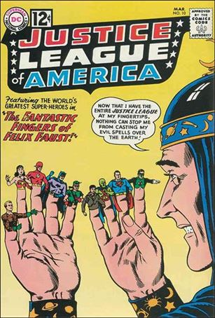 Justice League of America (1960) 10-A