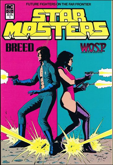 Star Masters (1984) 1-A by AC