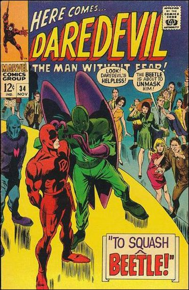 Daredevil (1964) 34-A by Marvel