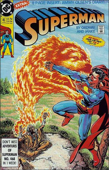 Superman (1987) 45-A by DC