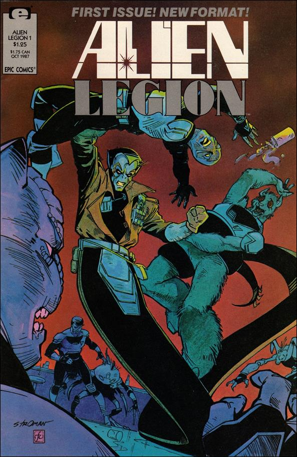 Alien Legion (1987) 1-A by Epic