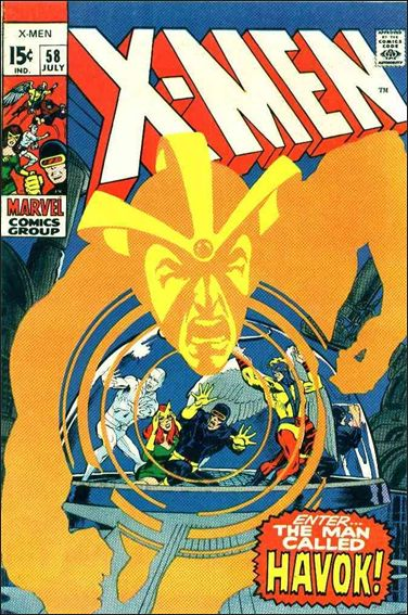 X-Men (1963) 58-A by Marvel