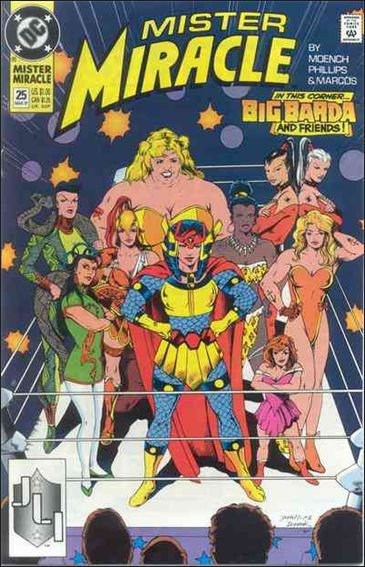 Mister Miracle (1989) 25-A by DC