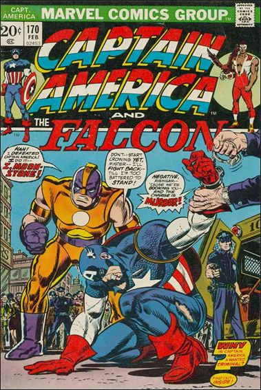Captain America (1968) 170-A by Marvel