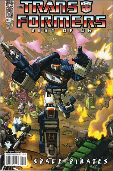 Transformers: Best of UK - Space Pirates 2-A by IDW