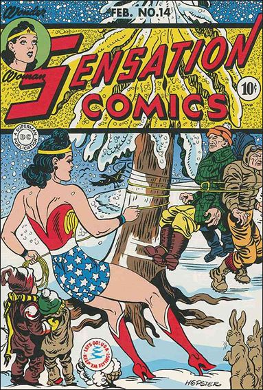 Sensation Comics (1942) 14-A by DC