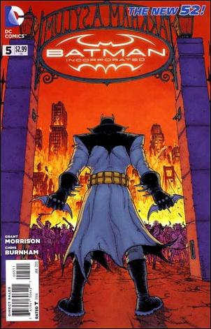 Batman Incorporated 5-A by DC