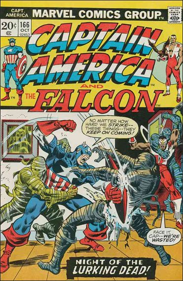 Captain America (1968) 166-A by Marvel