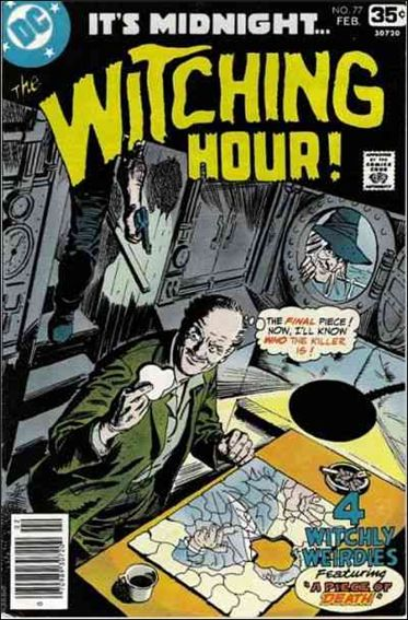 Witching Hour (1969) 77-A by DC