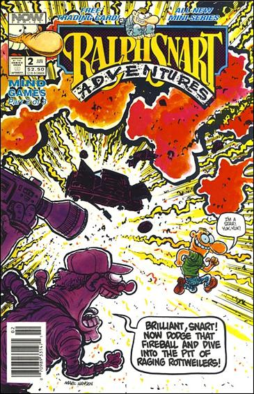 Ralph Snart Adventures (1992) 2-A by Now Comics