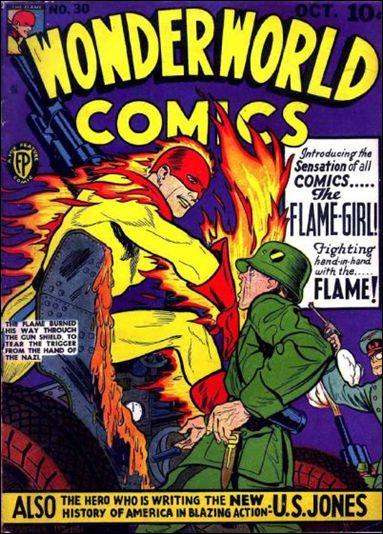Wonderworld Comics 30-A by Fox