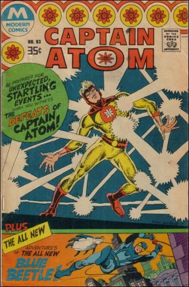 Captain Atom (1965) 83-B by Charlton