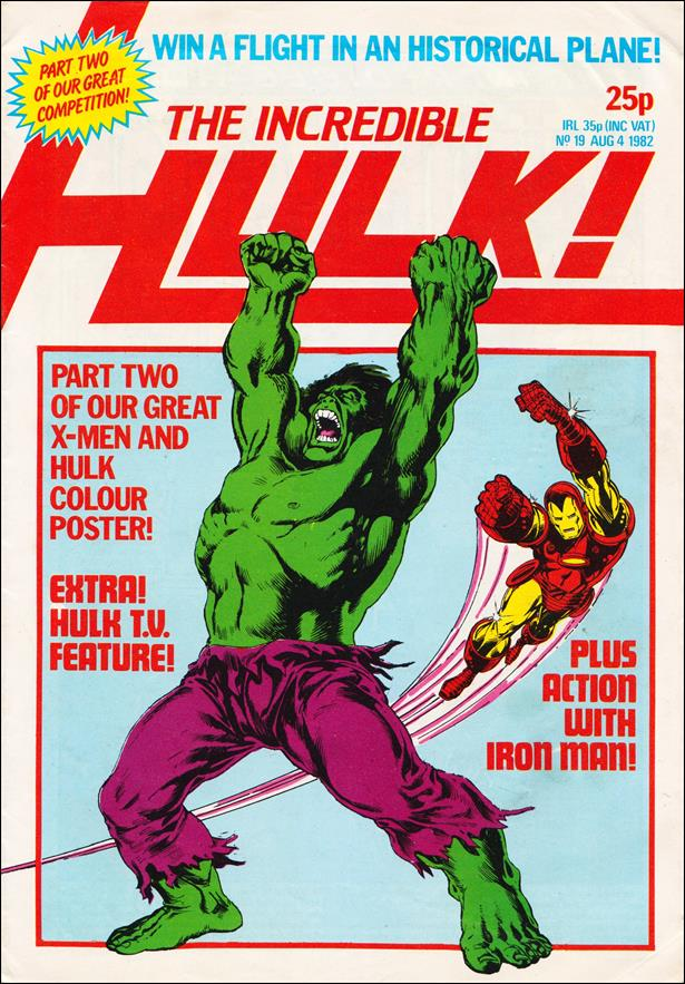 Incredible Hulk (UK) 19-A by Marvel UK