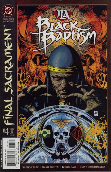 JLA: Black Baptism 4-A by DC