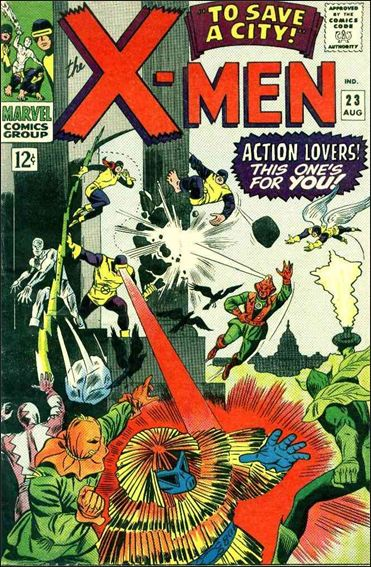X-Men (1963) 23-A by Marvel
