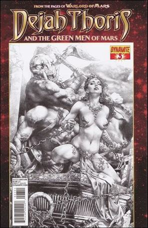 Dejah Thoris and the Green Men of Mars 3-E