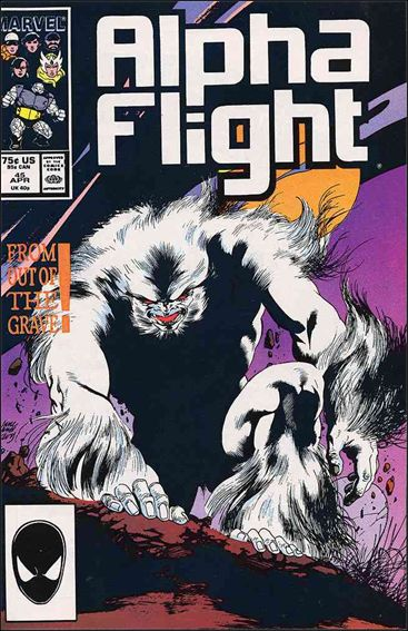 Alpha Flight (1983) 45-A by Marvel