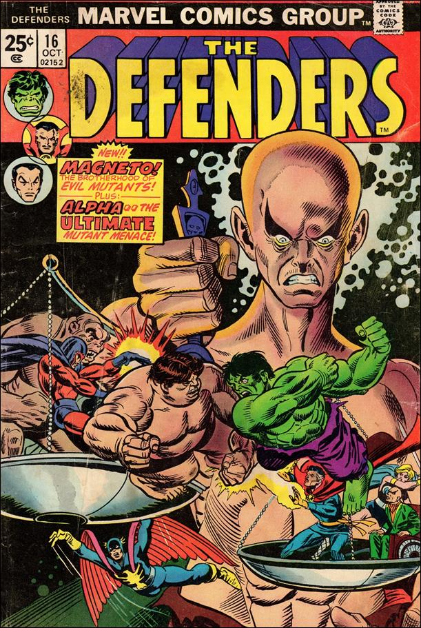 Defenders (1972) 16-A by Marvel