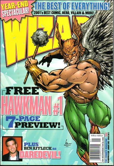 Wizard: The Comics Magazine 124-C by Wizard Press