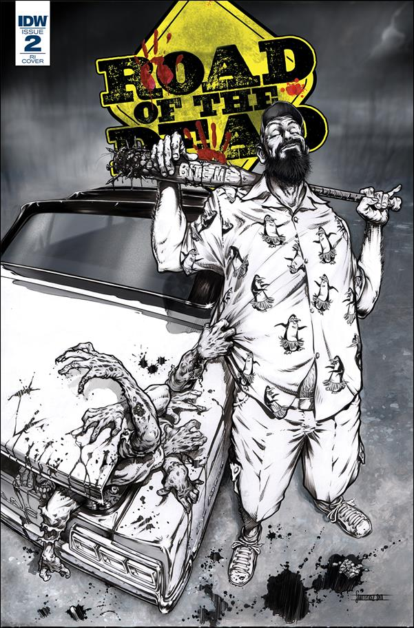 Road of the Dead: Highway to Hell 2-C by IDW