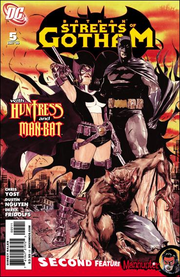Batman: Streets of Gotham 5-A by DC