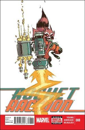 Rocket Raccoon (2014) 8-A