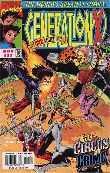 Generation X 32-A by Marvel