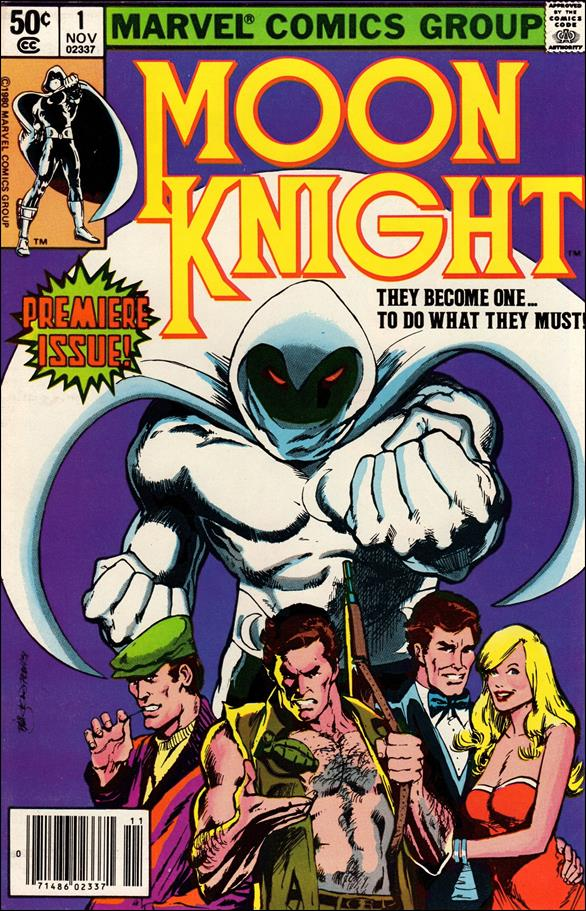 Moon Knight (1980) 1-A by Marvel