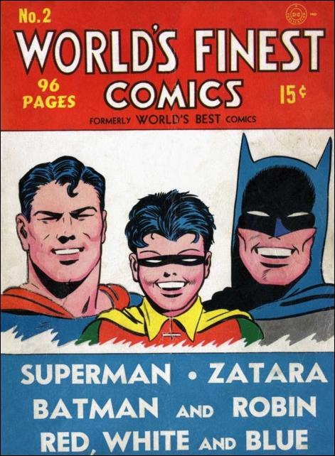 World's Finest Comics 2-A by DC
