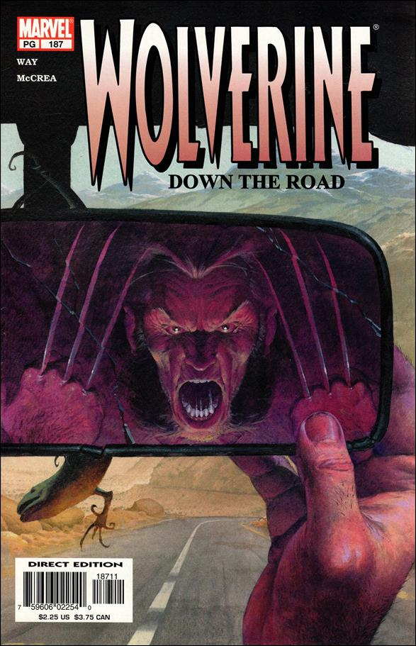 Wolverine (1988)  187-A by Marvel