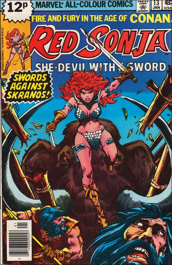 Red Sonja (1977) 13-B by Marvel