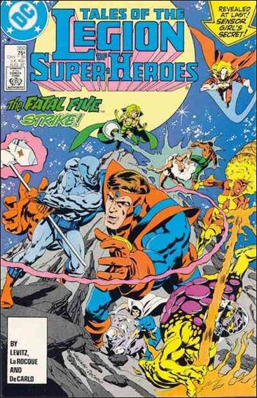 Tales of the Legion of Super-Heroes 350-A by DC