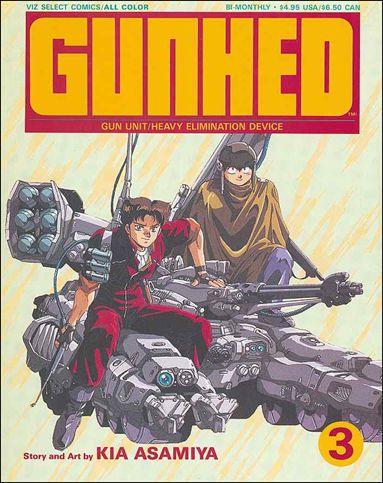 Gunhed 3-A by Viz