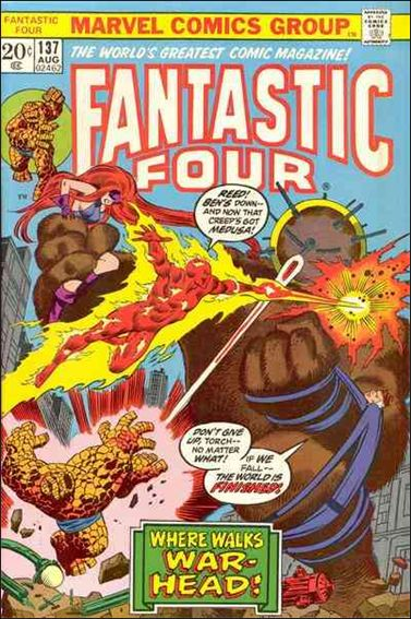 Fantastic Four (1961) 137-A by Marvel
