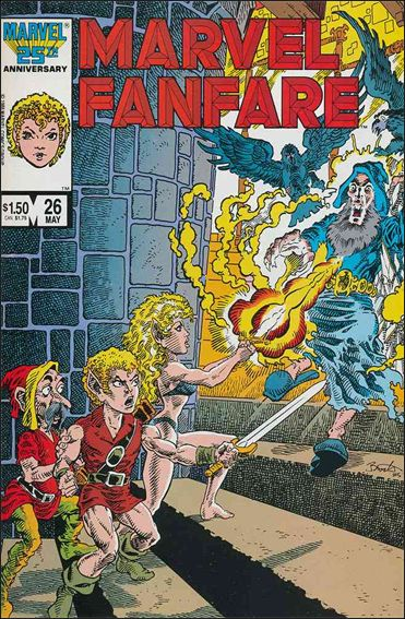 Marvel Fanfare (1982) 26-A by Marvel