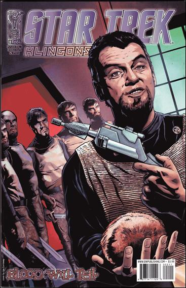 Star Trek: Klingons: Blood Will Tell 2-A by IDW