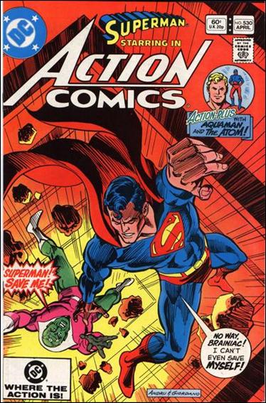 Action Comics (1938) 530-A by DC