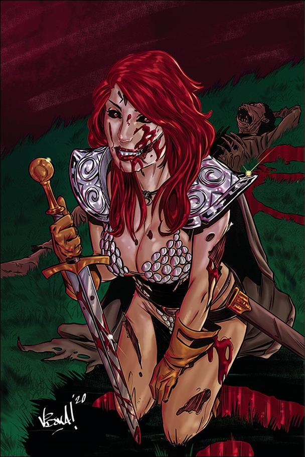 Red Sonja: The Superpowers 1-M by Dynamite Entertainment