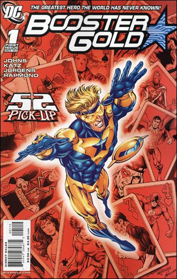 Booster Gold (2007) 1-D by DC